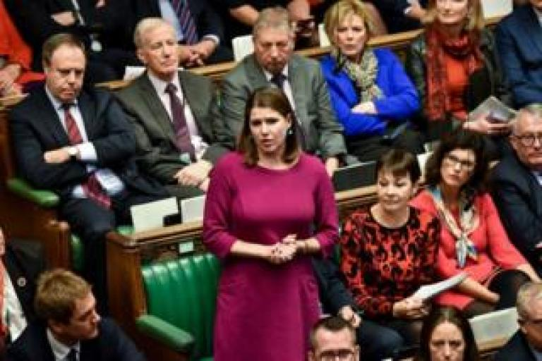 Jo Swinson speaking in the House of Commons