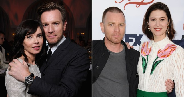 Ewan McGregor with Mary Elizabeth Winstead and Eve Mavrakis