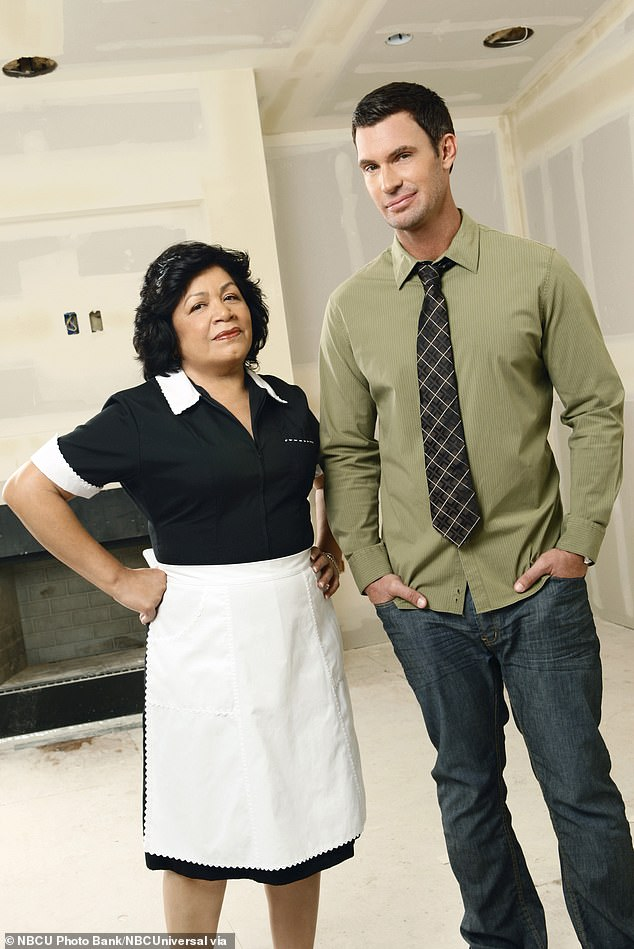 Jeff Lewis reveals ex housekeeper Zoila Chavez was at Monroe's birthday bash... and admits 'I forgot why I love this woman so much'; the two are pictured during their time on Flipping Out