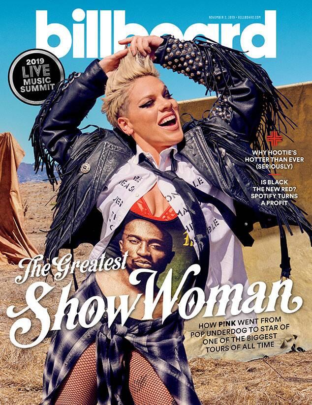 Pink, Billboard, Touring Issue, November 2019