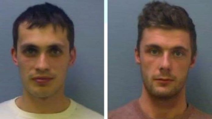Leeman, left, and Ruben were part of a wider organised crime group