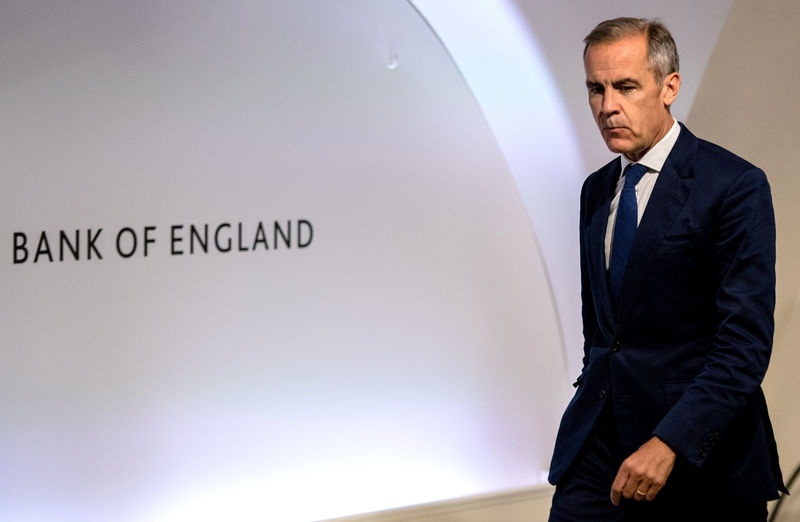 © Reuters. FILE PHOTO: Bank Of England Inflation Report Press Conference