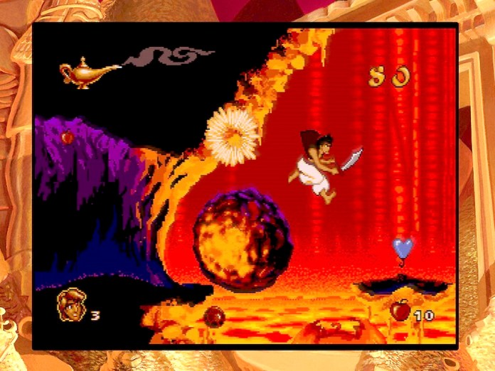 Disney Classic Games: Aladdin and The Lion King video game on Xbox One
