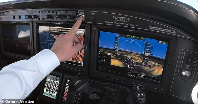 Autoland's navigation will prompt pilots after an extended period of inactivity and if the pilot doesn't respond the autopilot software will take control