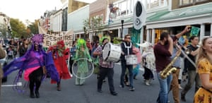 The O+ festival started in 2010 as a weekend-long festival of street art, live music and health-related events.