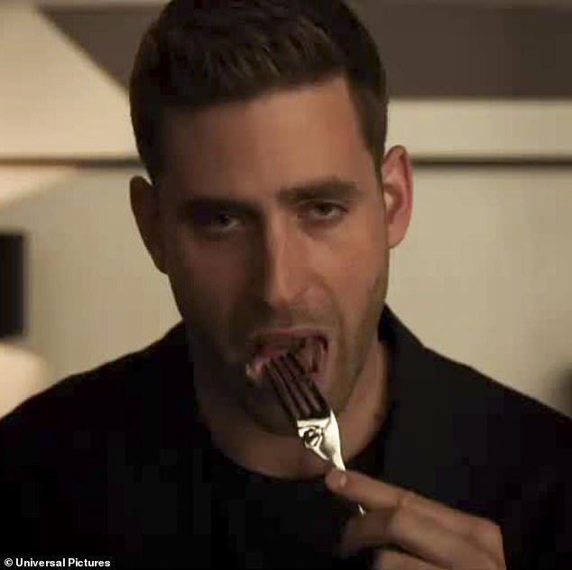 Not so invisible now: Adrian is played by English actor Oliver Jackson-Cohen
