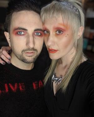 Chelsei, a hair salon manager, and her boyfriend Tom.