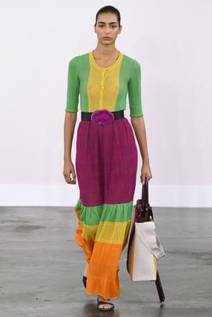 The Gabriela Hearst show SS20 at New York fashion week.