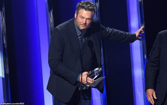 Blake wins: Blake Shelton kicked off the 53rd Annual CMA Awards by winning the first award of the night, Single of the Year, his first time winning the award in his storied career