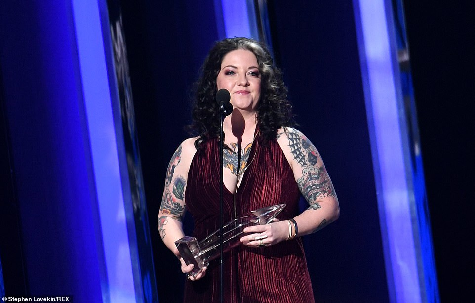 Winner:They were on stage to present New Artist of the Year, which was won by Ashley McBryde, beating out Cody Johnson, Midland, Carly Pearce and Morgan Wallen