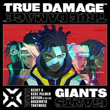 true damage giants song artwork