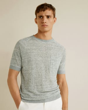 A lyocell t-shirt from Mango.