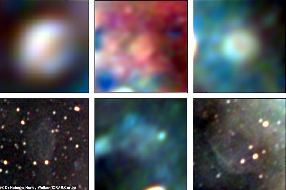 Of the 27 supernova explosions spotted within the image, some were found in areas of the sky that had no other big stars