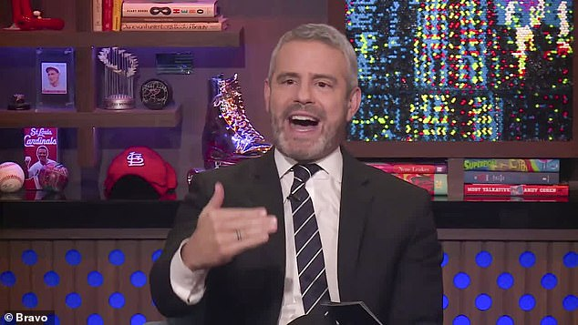 Doomed?Andy Cohen says Teresa Giudice has a 'very realistic' attitude about her future with Joe... and notes the 'seeming deadness' of their marriage; he spoke on Wednesday night following Watch What Happens Live