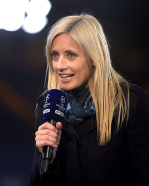 BT Sport presenter Lynsey Hipgrave.