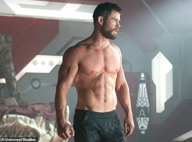 Behind the scenes: Chris Hemsworth's trainer says the Marvel actor (pictured) is 'like a brother to him' - as he reveals why exercise isn't just about keeping in shape