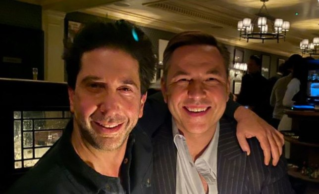 David Walliams and David Schwimmer