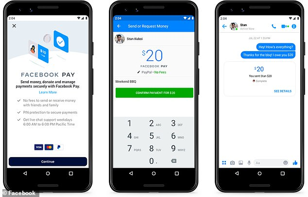 Facebook Pay will let users make purchases and transfer money on the platform's constellation of apps like WhatsApp, Instagram, and Messenger