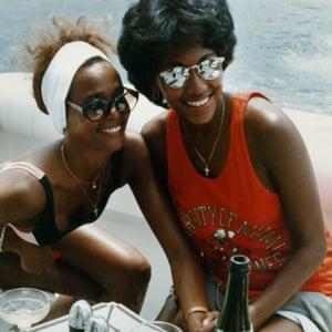 Robyn Crawford with Whitney Houston
