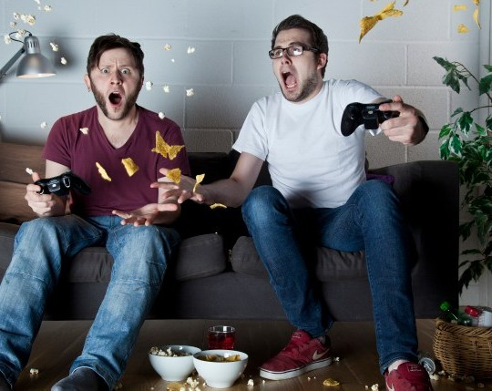 Video Games Sofa Shoot