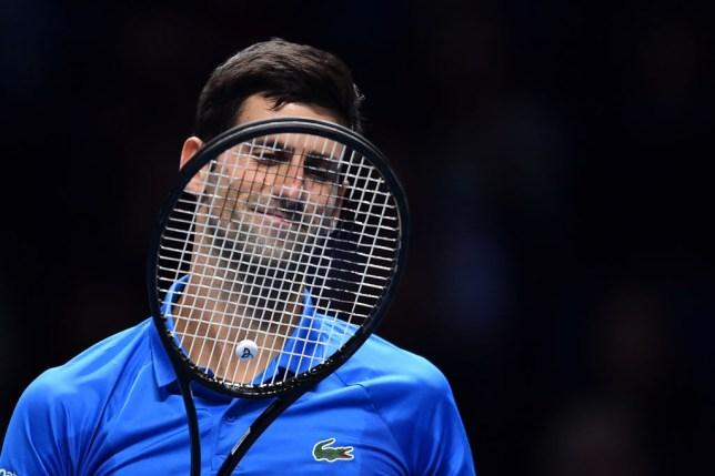 Novak Djokovic faces Roger Federer at the ATP Finals
