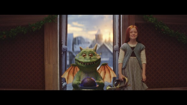 A still from the 2019 John Lewis Christmas advert