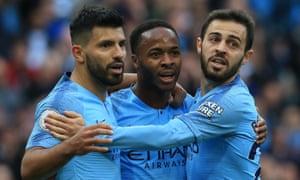 Sergio Agüero , Raheem Sterling and Bernardo Silva have been pivotal to Manchester City's success