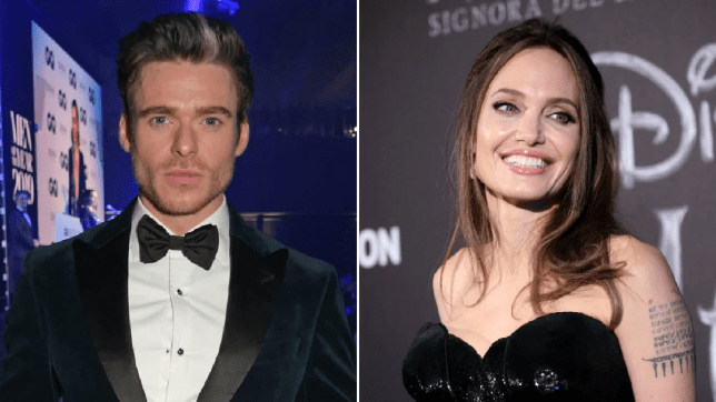 Richard Madden and Angelina Jolie