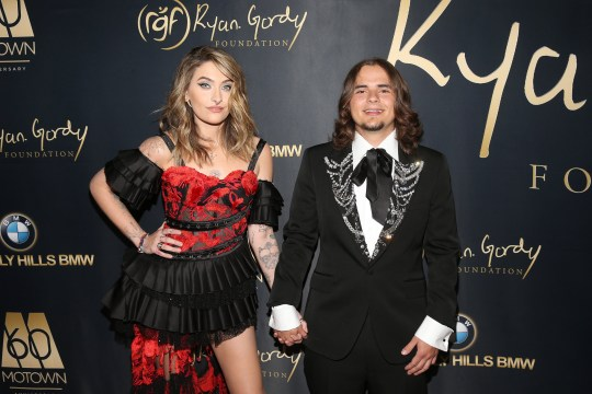Paris Jackson and Prince Jackson