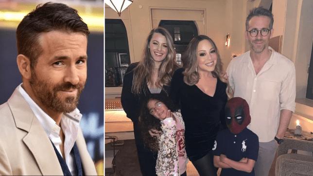 Ryan Reynolds and Blake Lively meet Mariah Carey and her kids