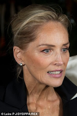 Headed to court: Sharon Stone, 61, filed a lawsuit against the rapper over her track Sharon Stoned, claiming the rapper is feeding off Basic Instinct star's 'extraordinary level of popularity and fame'