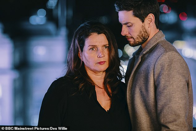 Ben Barnes and Julia Ormond are stars of the BBC's new 'toyboy' drama Gold Digger