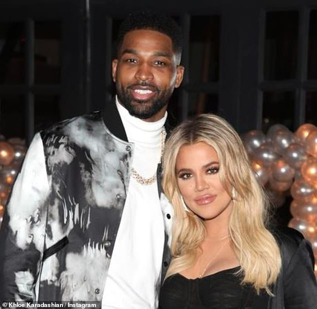 Happier times:Tristan Thompson is reportedly still trying to date his ex Khloe Kardashian
