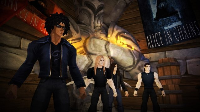 "Virtual Version Of ALICE IN CHAINS To Play Concert Inside ""AdventureQuest 3D' And 'AQWorlds' Video Games"