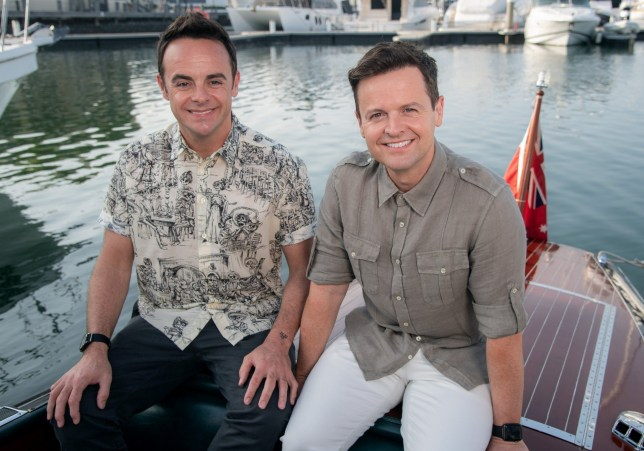 Ant and Dec hosting I'm A Celebrity Get Me Out Of Here