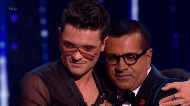 X Factor: Celebrity's Martin Bashir