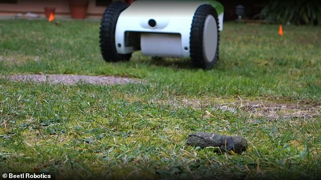 A firm has designed a robot that finds, detects and automatically scoops up what your canine friend left behind. Called Beetl, this machine is equip with computer vision and front cameras to hunt down dog poop