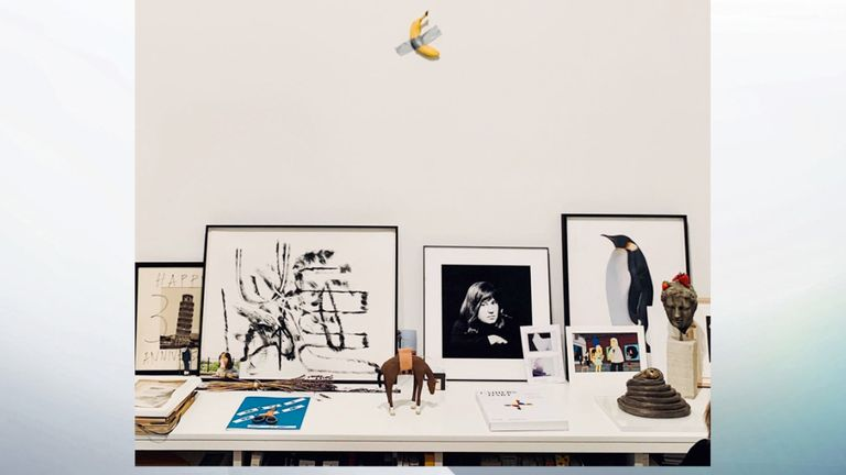 Two editions of the artwork have sold for $120,000. Pic: Zeno ZottiJacopo Zotti