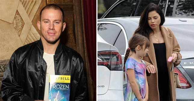 Channing Tatum takes daughter to Frozen musical