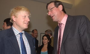 Max Hastings with Boris Johnson