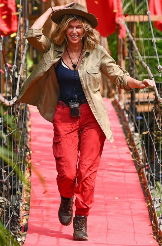 Editorial use only Mandatory Credit: Photo by ITV/REX (10494312e) Kate Garraway is evicted from camp 'I'm a Celebrity... Get Me Out of Here!' TV Show, Series 19, Australia - 07 Dec 2019