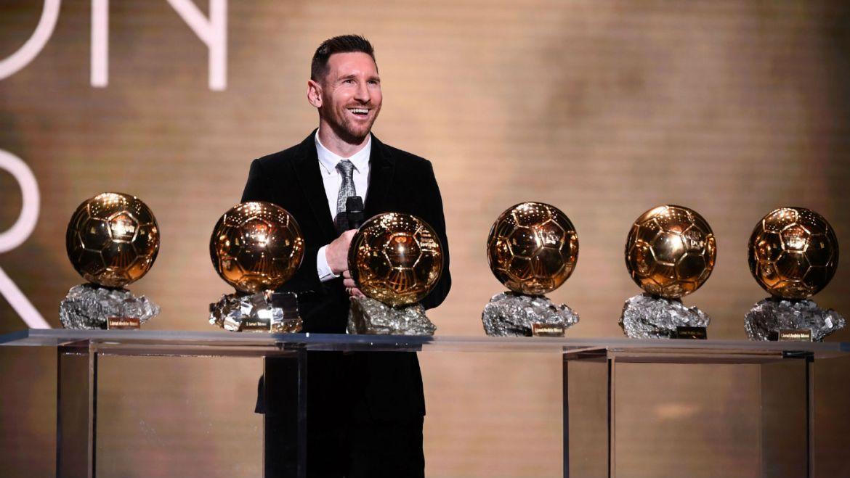 Lionel Messi has won a record sixth Ballon d'Or award