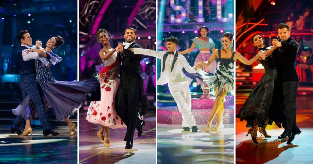 Comp of the Strictly Come Dancing 2019 semi-finalists