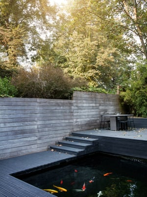 'I believe God wanted me to be in this house': Tempah's Japanese inspired garden.