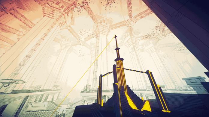 A screenshot from Manifold Garden