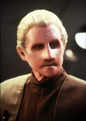 René Auberjonois as Odo in Star Trek: Deep Space Nine.
