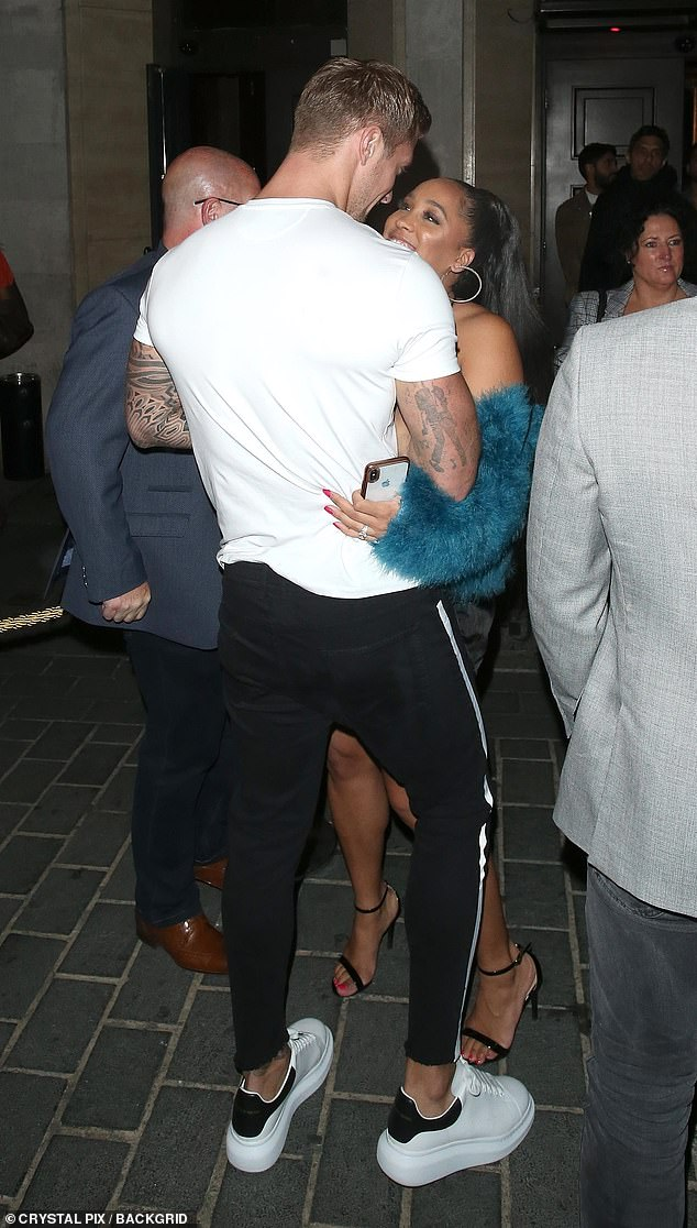 Alleged:In her interview, Chloe claimed Dan had sex with American reality star Natalie (above), before getting intimate with Chloe - after the group had 'let loose' during a 'debauched' evening