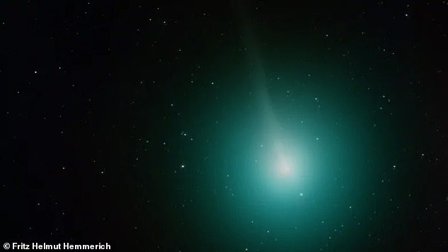 It is not currently known what causes outbursts, but they are related to the conditions on the comet's surface. Pictured is an image of Wirtanen in 2018