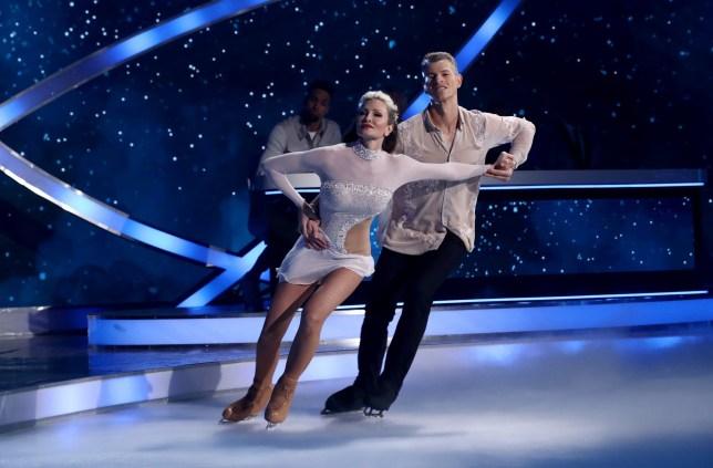 Dancing On Ice's Caprice Bourret