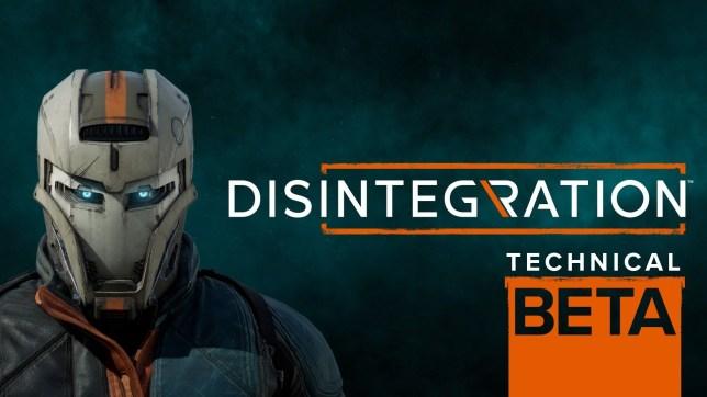 Disintegration technical beta key art